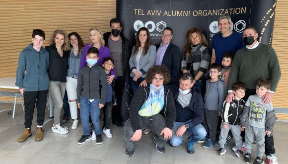 The future generation of TAU Alumni begins at age 4