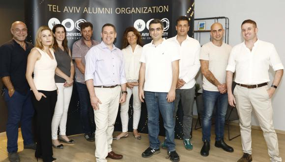 The TAU Alumni Organization Advisory Committee. Photography: Yael Zur